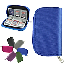 100% New Potable Memory Card Holder Carrying Case Bag  for SDHC and SD Cards