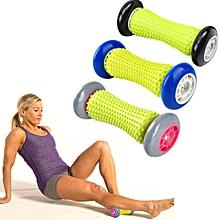 Yoga Health Care Wheel Neck Lumbar Leg Hand Foot Massage Wheel, Random Color Delivery, Length: 17cm