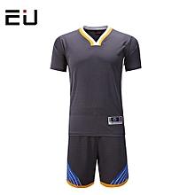 Customized Men's Basketball Training Sports Jersey Uniform-Grey(1615)