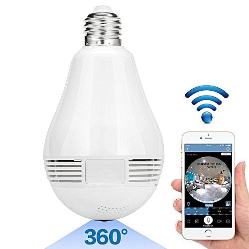 1080P light bulb 360 CCTV Hidden Nanny Camera night vision