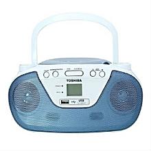 TYCRU8 - Portable CD & USB Radio - Blue&white