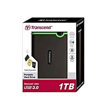 1TB StoreJet 25M3, EXTERNAL HARD DRIVE, USB 3.0/3.1 Grey & green