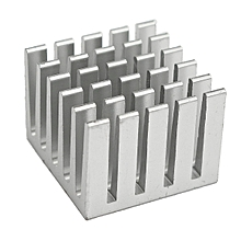 1pcs 20x20x15mm DIY CPU IC Chip Heat Sink Extruded Cooler Aluminum Heat Sink