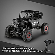 NO.699-115 1/18 4WD 2.4G Alloy Off-Road Climber Monster RC Car RTR