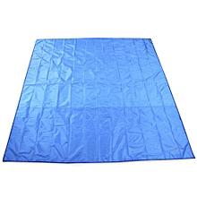 AT6210 215 X 215cm Large Water Resistant Moisture-proof Mat - Blue