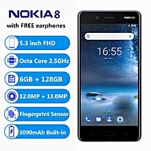 8 4G Smartphone 5.3Inch Snapdragon835 6GB RAM 128GB ROM-BLUE