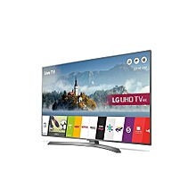 "UJ630V 49"" Smart UHD 4K LED TV - HDR - Black"