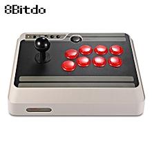 8Bitdo NES30 Customizable Bluetooth Arcade Game Stick - GRAY