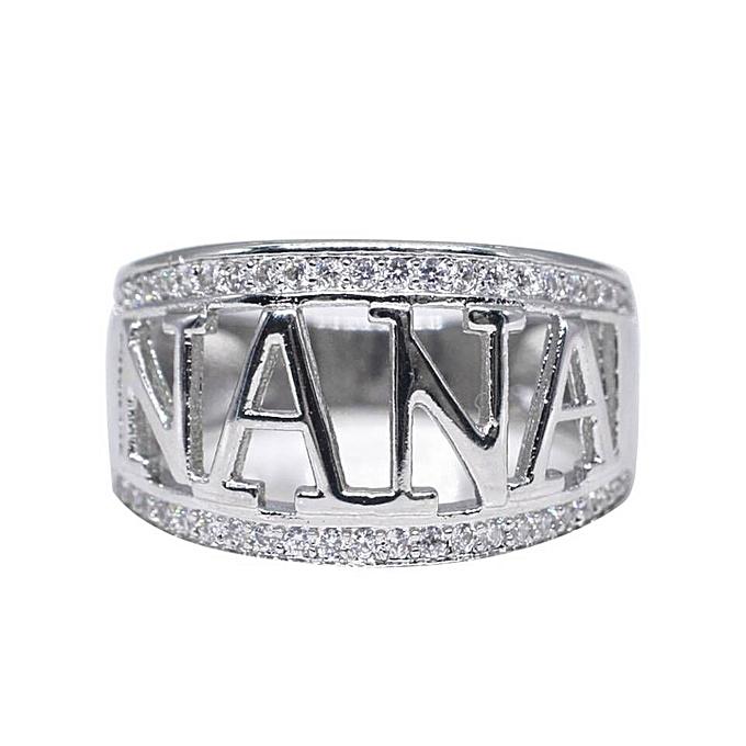 Buy Generic Exquisite Nana Ring Cubic Zirconia Diamond Nana