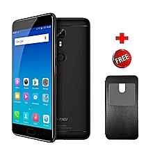 "A1 Plus- 5.5""- 16MP+13MP Camera- 4G LTE- 64GB+4GB- 4010mAh- Black + FREE COVER"