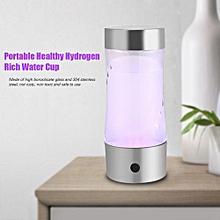 Portable USB Water Bottle Healthy Hydrogen Rich Water Maker Bottle Cup Ionizer Filter
