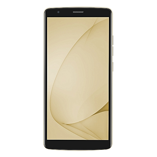 BLACKVIEW A20 3G Smartphone 5.5 inch MTK6580 Quad Core 1.3GHz 1GB RAM 8GB ROM Android 8.0 Dual Back Cameras - GOLD