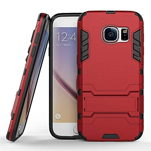premium selection 93b5c a5b1c For Samsung Galaxy S7 Case Luxury Hybrid Silicone Iron Man Armor Case Cover  For Galaxy S7 Full Protect Phone Housing Shock Protection Back Cover ...