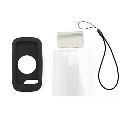 Silicone Case Cover Screen For Garmin Edge 1000 G8 GPS Black