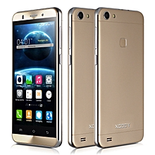 """5"""" Android 5.1 Mobile Phone Smartphone 5MP 4 Core 8GB ROM GSM IPS qHD-gold"""