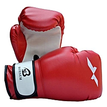 UJ Good Quality Training Gloves New Style Boxing 2 Colors Optional Red