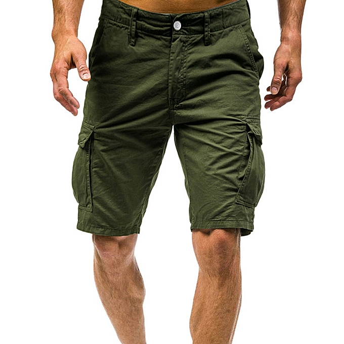 Generic Men s Shorts Sports Work Casual Army Combat Cargo Shorts Pants  Trousers A1 bed3dd63b52