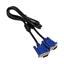 VGA Cable 1.5Mtrs - Blue & Black