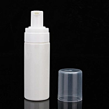 50ml PET Refillable Hand Soap Foaming Empty Bottle Dispenser Holder Foam Pump White