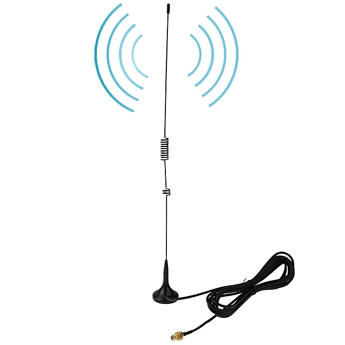 NAGOYA UT-106UV SMA Female Dual Band Magnetic Mobile Antenna for Walkie  Talkie, Antenna Length: 37cm