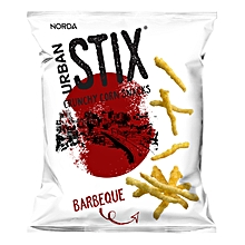 Crunchy Corn Snacks, Barbeque, 40g