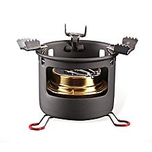 ALOCS CS-B13 Camping Picnic Alcohol Cooking Stove Set Portable Liquid Fuel Furnace Burner Cooker