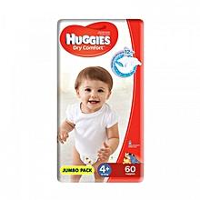 Dry Comfort Diaper Size 4 - 60 Diapers