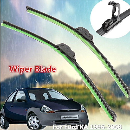 For Ford Ka   Front Windscreen   Flat Aero Wiper Blades