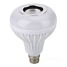 LED Bulb Light Bulb Bright B22 Cold White+RGB Bluetooth Speaker