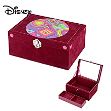 SOY LUNA Fashion Jewelry Box Case Cassette With Lock For Kids Children