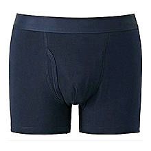Dope Dealer Navy Blue Cotton Casual Fitting Boxers
