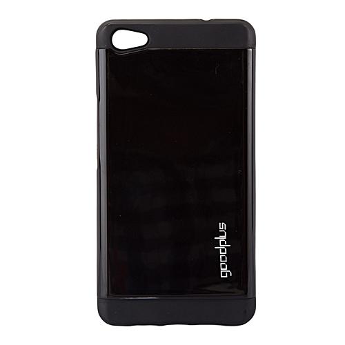 best service 6a1e6 042e7 Techno Boom J8 Back Cover - Armor case Black.