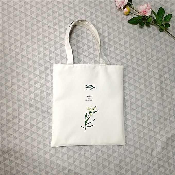 b2ecac3399d Breeze and leaf-the white wrapSmall Zi the home shopping bag is oxford new  style of the canvas bag INS Korea the super fire list shoulder lift a ...