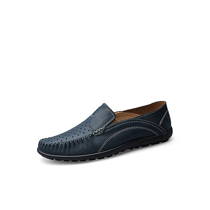 d38b25dbc9d0 Big Size 37-46 Men Casual Shoes Driving Moccasins Slip On Loafers Men Flat  Shoes