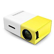 YG - 300 LCD Portable Projector Mini 1080p Video Media LED Lamp Player Best Home Protector
