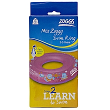 Swim Ring  Miss Zoggy 3-6 Yrs- 302218-
