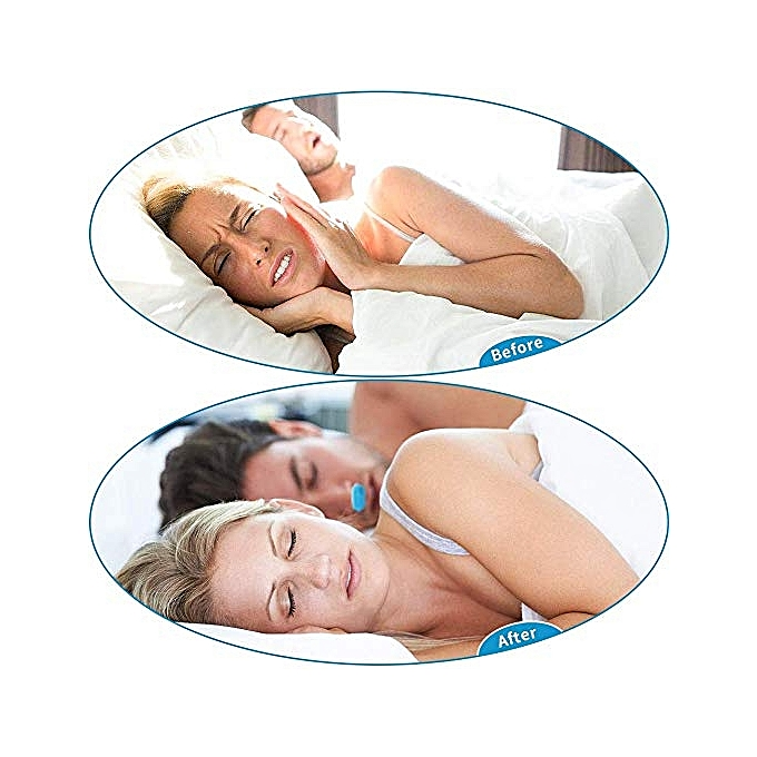 ... 2 in 1 Anti Snoring Device, Snore Stopper and Silicone Nose Clip Sleeping Breath Aids ...