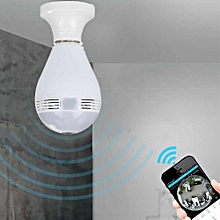 HD 960P Wireless wifi Security Camera Bulb Light Fish Eye Spy Camera 360 Degree JY-M