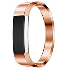 Stainless Steel Watch Band Wrist strap For Fitbit Alta HR Smart Watch RG-Rose Gold
