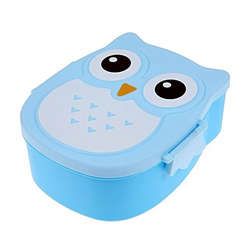 Buy Generic Cartoon Owl Lunch Box Food Fruit Storage Container