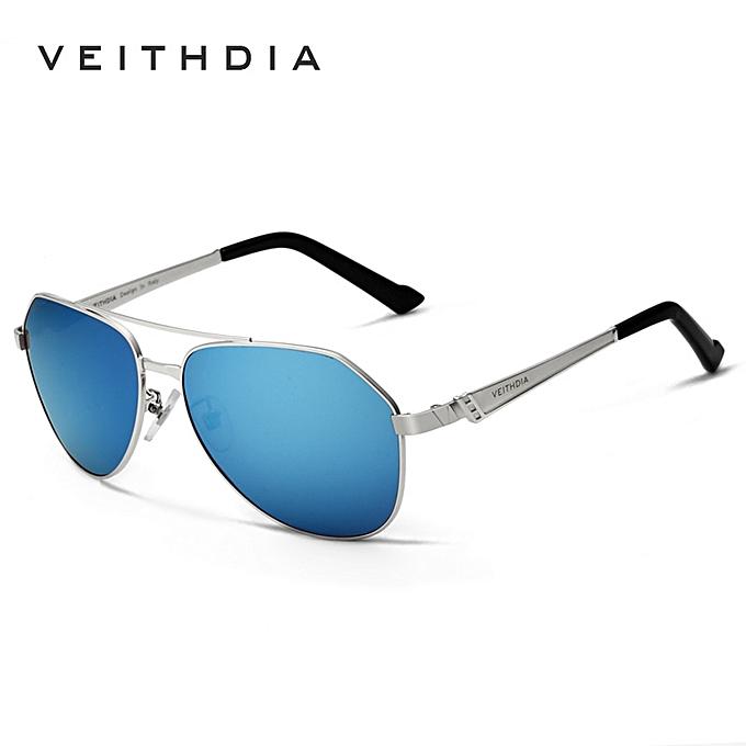 241f24d5480 VEITHDIA 6567 Premium Men Magnesium and Aluminium Alloy Frame Polaroid  Sunglasses- blue XXZ-Z