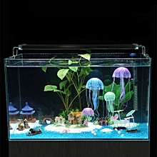Simulated Jellyfish Microview Fish Tanks Home Decoration Glowing Floating
