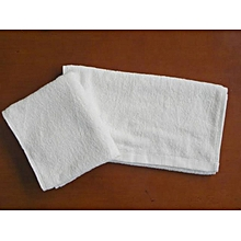 Face towel- White