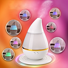 Ultrasound USB Changing Air Humidifier Purifier 7 LED Color Light Aroma Atomizer