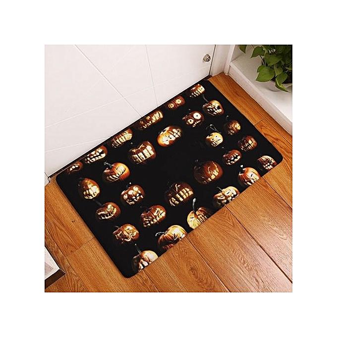 halloween home non slip door floor mats hall rugs kitchen bathroom carpet decor