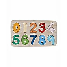 Puzzle - Insert Numbers - Multicolor