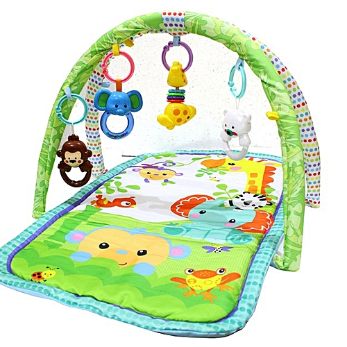 e1e9a5129700 Generic Play Gym Alan Baby Play Mat with Toys - Multicolor   Best ...