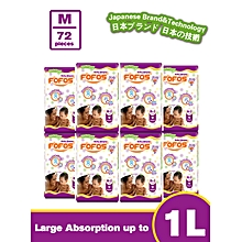 G9 Medium (MEDIUM-Size 3(6-9kgs) - 9 PACK (COUNT 72)