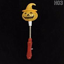 Hequeen Pumpkin LED Glow Stick Halloween Party Celebration Supply Decor Gift Favor Prop H03