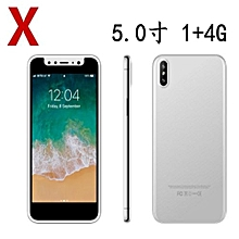 5.0 Inch Hd HD Screen 3G Smartphone / X Mobile Phone